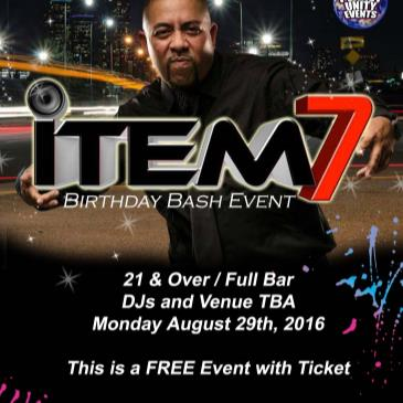iTEM 7's BDay Bash-img