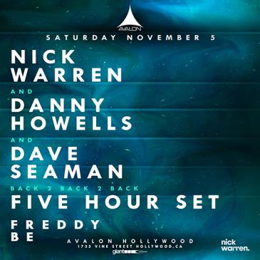 Nick Warren b2b Danny Howells b2b Dave Seaman - 5 hour set-img