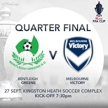 Bentleigh Greens v Melbourne Victory: Main Image