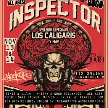 INSPECTOR & LOS CALIGARIS at THE WHISKY A GOGO ! NOCHE 1-img