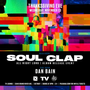 SOUL CLAP THANKSGIVING EVE: Main Image