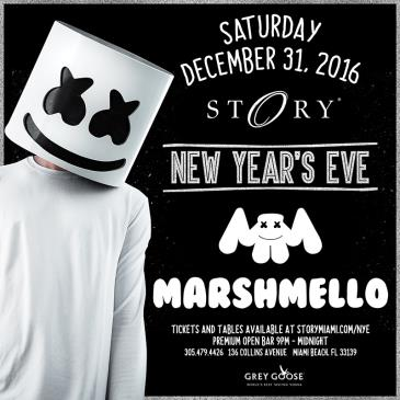 Marshmello New Year's Eve STORY: Main Image