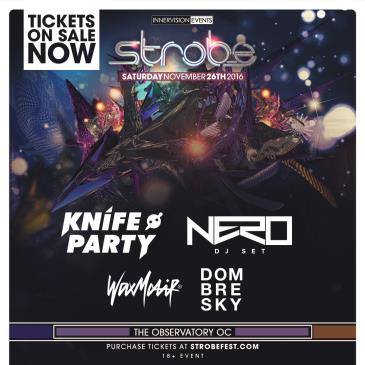 STROBE ft: Knife Party, Nero, Wax Motif & more...-img