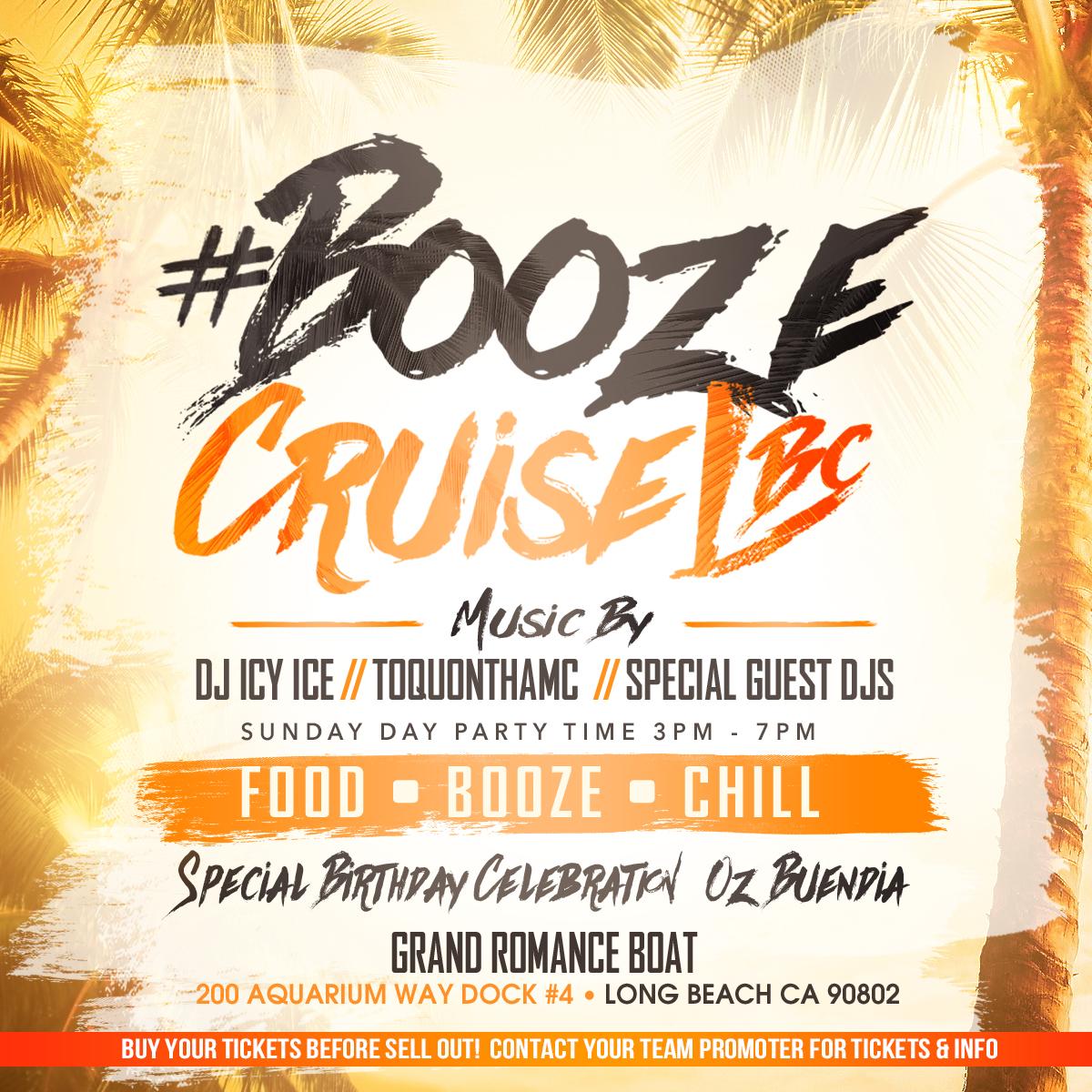 Booze Cruise October Birthday Edition Tickets 10 16 16