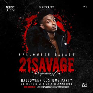 21 SAVAGE PERFORMING LIVE AT OHM NIGHTCLUB-img