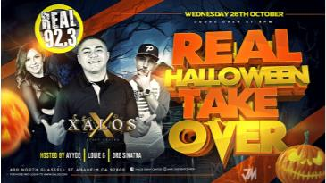 REAL 92.3FM HALLOWEEN TAKEOVER: Main Image