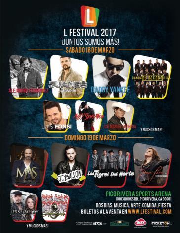 L Festival: Main Image