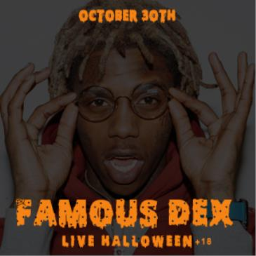 "Hollywood Halloween ""Famous Dex Live""-img"