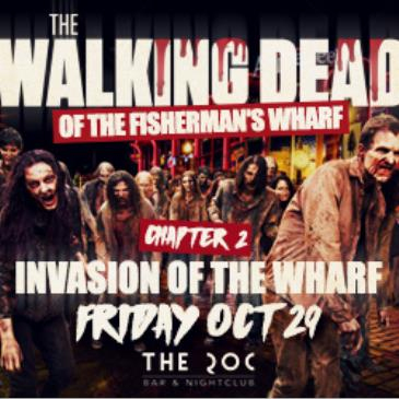 WALKING DEAD ON FISHERMANS WHARF HALLOWEEN PT. 1 - THE ROC-img