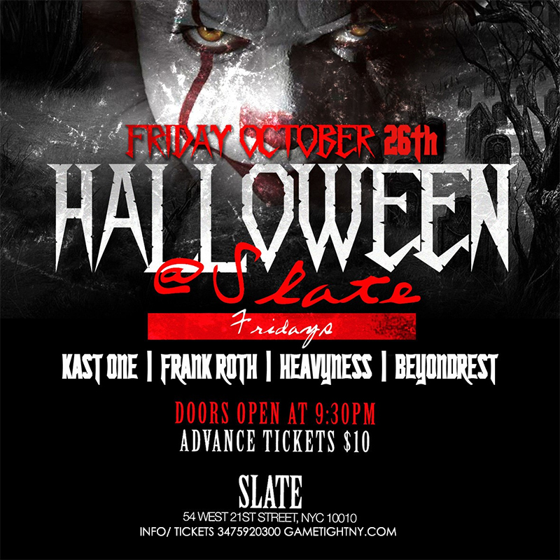 Slate NYC Halloween | Gametightny.com