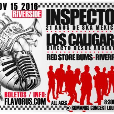 INSPECTOR & LOS CALIGARIS, RED STOREBUMS YMAS! EN RIVERSIDE-img