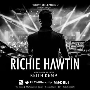 Paxahau Presents: Richie Hawtin: Main Image