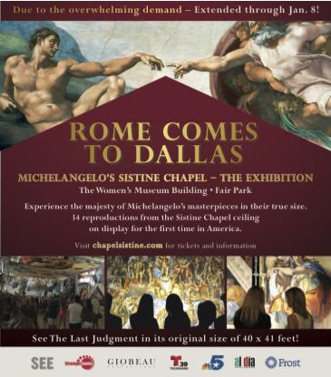 Michelangelo's Sistine Chapel: The Exhibition: Main Image