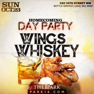 Wings & Whiskey: Homecoming Sunday Brunch & Day Party-img