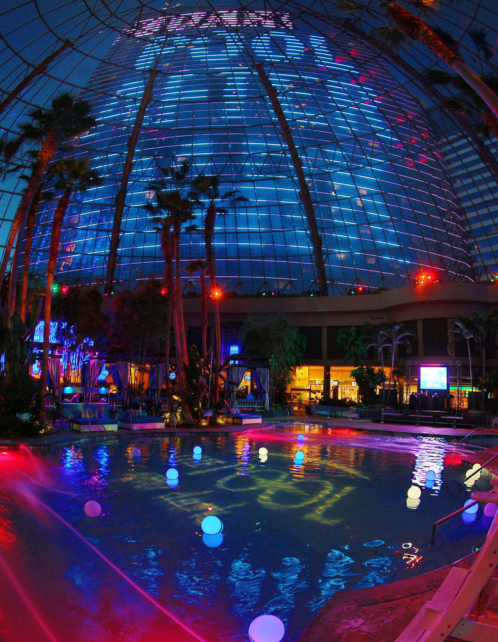 Harrahs Pool Party Pool After Dark Halloween Tickets 10/29/16