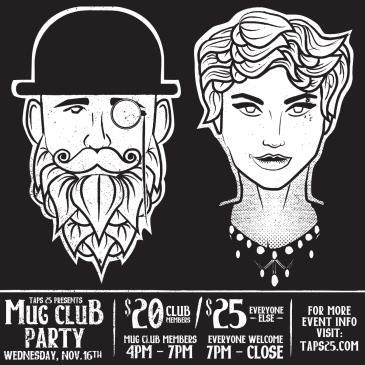 Mug Club Party: Main Image