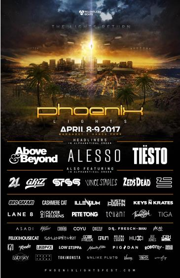 Phoenix Lights 2017: Main Image