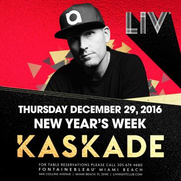 Kaskade New Year's Week LIV: Main Image