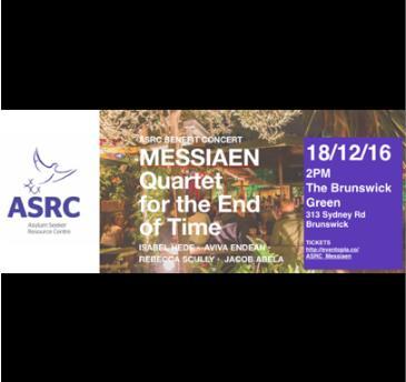ASRC Benefit Concert  | MESSIAEN Quartet for the End of Time: Main Image