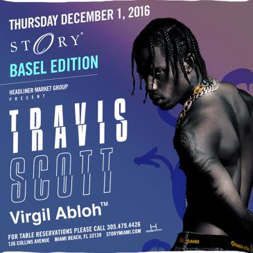 Travis Scott w/ Virgil Abloh Basel Edition STORY: Main Image