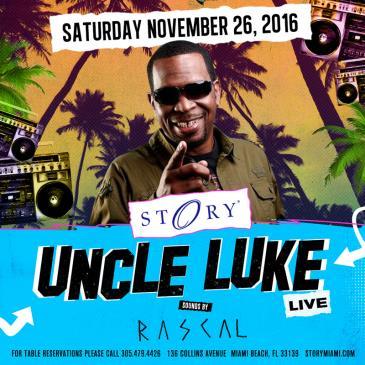 Uncle Luke STORY: Main Image