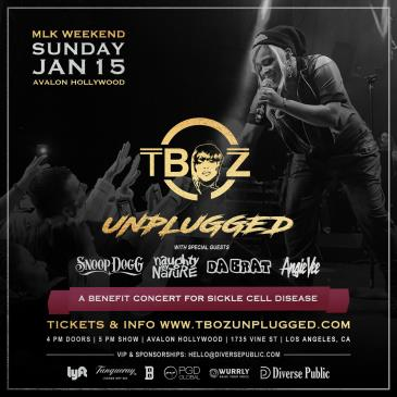 T-Boz Unplugged w/ Snoop Dogg, Naughty by Nature & Da Brat: Main Image