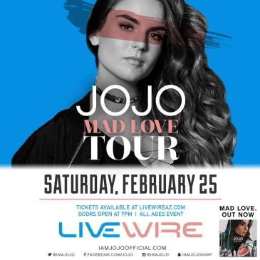 JoJo: Mad Love Tour: Main Image