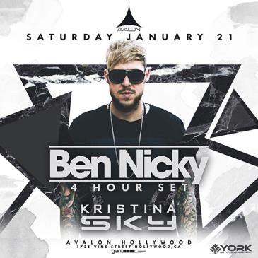Ben Nicky 4 Hour Set, Kristina Sky: Main Image