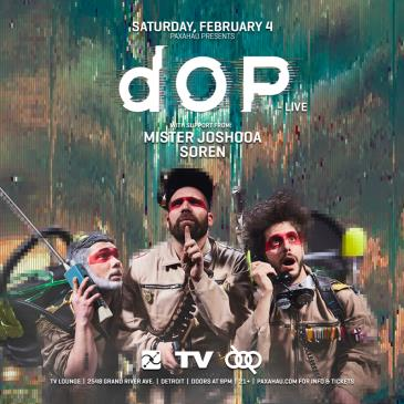 Paxahau Presents: dOP Live: Main Image