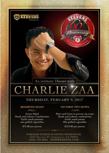 Charlie Zaa: Main Image