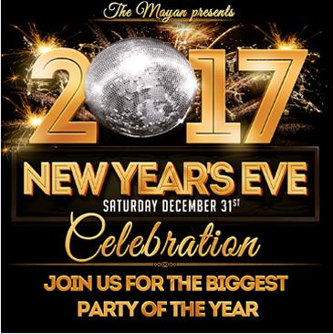 NEW YEAR'S EVE 2017: Main Image