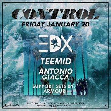EDX, Teemid, Antonio Giacca: Main Image