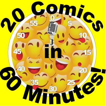 BonkerZ Presents 20 Comics in 60 Mins Comedy Slam-img