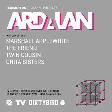 Paxahau Presents:  Ardalan: Main Image