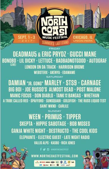 North Coast Music Fest 2017: