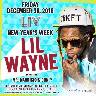 Lil Wayne New Year's Week LIV: Main Image