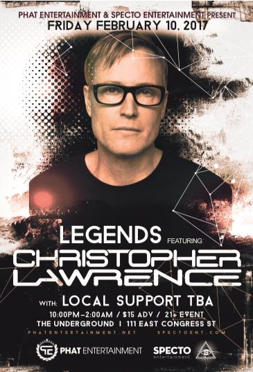LEGENDS feat. Christopher Lawrence: Main Image