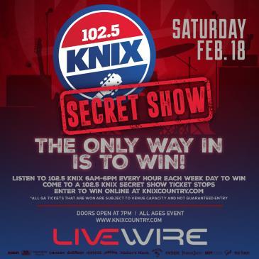 102.5 KNIX Secret Show-img
