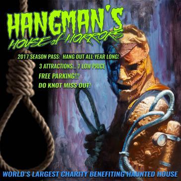 Hangman's House of Horrors 2017 Season Pass: Main Image