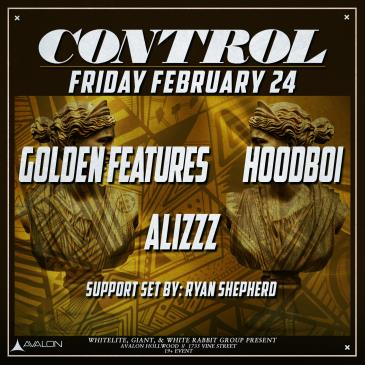 Golden Features, Hoodboi, Alizzz-img