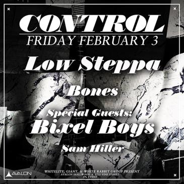 Low Steppa, Bixel Boys, Bones, Sam Hiller-img