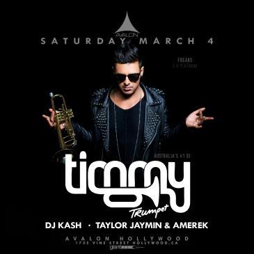Timmy Trumpet, DJ Kash, Taylor Jaymin & Amerek: Main Image