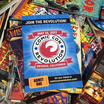 Comic Con Revolution: