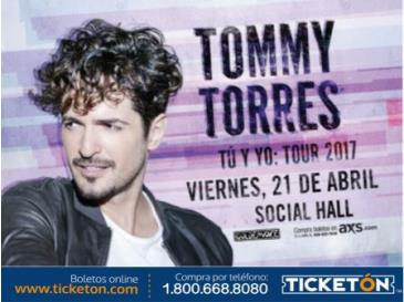 CANCELLED TOMMY TORRES EN SAN FRANCISCO: Main Image