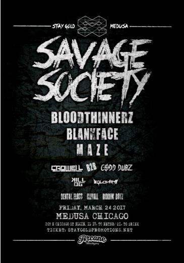 Savage Society Take Over: Main Image
