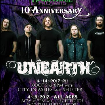 Unearth Live in Concert (21+)-img