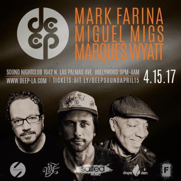 Miguel Migs, Mark Farina & Marques Wyatt @ Sound Nightclub-img