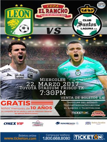 CLUB LEON VS CLUB SANTOS LAGUNA: Main Image