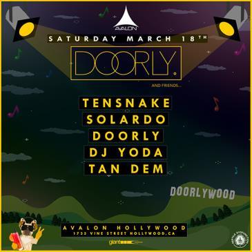 Tensnake, Solardo, Doorly, DJ Yoda, Tan Dem: Main Image