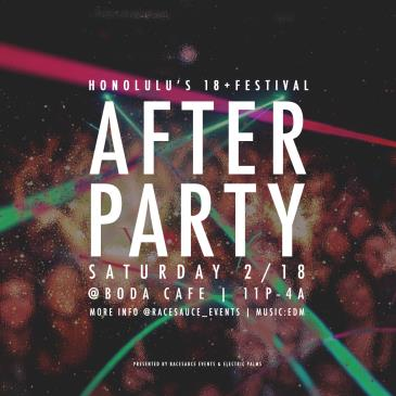 Honolulul's 18+ Festival After Party: Main Image